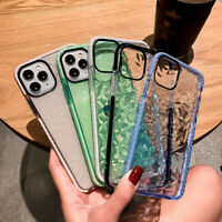 Diamond Pattern Clear Soft Case Cover For iPhone 12 Pro Max 11 XR X XS 8 7 Plus
