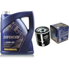 Vidange Kit 5 Litre mannol Defender 10W-40 + Sct Filtre à Huile Service 10164130
