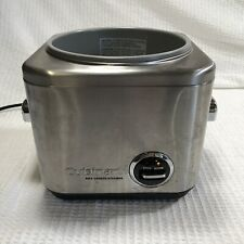 Cuisinart Crc-400 4 Cup Rice Cooker Steamer Replacement Base Only No Other Parts