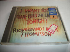 Richard & Linda Thompson: I want to see the bright lights tonight - CD - ISLAND