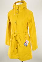 HELLY HANSEN Womens Yellow KIRKWALL II Windproof Hooded Raincoat MEDIUM NWT