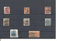 Memel, Litauen 1920-1923, Einzelmarken aus MiNrn: 1 - 229 o,geprüft Huylmans BPP