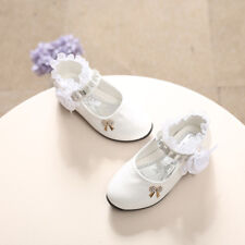 Toddler Flower Girl Shoes Kids Baby Fashion Flats Wedding Party Princess Shoes