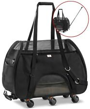 USED   WPS Airline Approved Removable Wheeled Pet Carrier Small Pets.