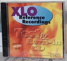 Reference Recordings GOLD CD RX1000: XLO Test & Burn-In CD - 1995 USA SEALED