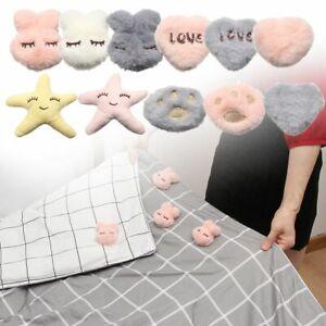 Non-Slip Plush Quilt Holder Quilt Fixer Mattress Clip Bed Sheets Buckle