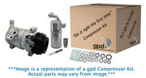 A/C Compressor and Component Kit-New A/c Compressor Kit Global 9622694
