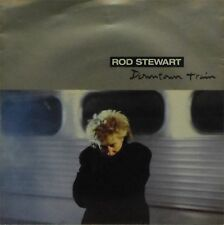 "ROD STEWART 'DOWNTOWN TRAIN' GERMAN IMPORT PICTURE SLEEVE 7"" SINGLE"