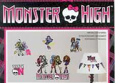 MONSTER HIGH girl wall stickers 37 decals Abbey Draculaura Ghoulia Frankie Stein