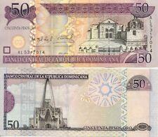 REPUBLIQUE DOMINICAINE DOMINICAN DOMINICANA 50 PESOS 2006 NEUF UNC