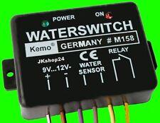 NEU! WASSER-SENSOR 12 V/DC WASSERLECK MELDER FÜLLSTANDSANZEIGE Relais max.25V/3A
