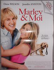 Affiche MARLEY ET MOI Marley & Me OWEN WILSON Jennfier Aniston 40x60cm
