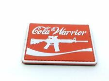 Cola Warrior Cosplay PVC Paintball Airsoft Patch