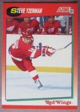 1991-92 Score #190 Steve Yzerman Detroit Red Wings