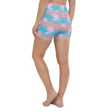 Cute Women Shorts Running Yoga Gym Pants Sports Workout Beach High Waist Short