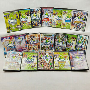 The Sims 3 PC / Expansion Packs PC & MAC Sims3 (CD's VGC) All With Manuals
