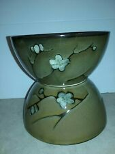 """1 Pfaltzgraff Flora Gold China Soup,Chili, Bowls 6"""" Round 3"""" Tall Buy 1 or more"""