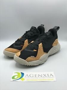 Nike Men's 10 Jordan Delta React Black Flax Sneakers Shoes New CD6109-002
