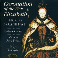 Coronation Of The First Elizabeth 1558 - Forbury Consort/King's (2010, CD NIEUW)