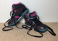 Osiris Kids Girls NYC Show Size 5 Pink / Black