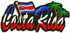 COSTA RICA - IRON or SEW-ON PATCH