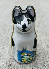 Cat Tin Dana Kubick Hunkydory England 1986 Mouse Vintage
