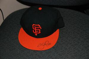 PABLO SANDOVAL signed new San Francisco Giants baseball cap AUTO 59Fifty