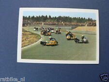 VDH3-101 SIDECAR DRIVERS,GESPANNE  RENNMASCHINEN PICTURE STAMP ALBUM CARD,
