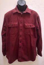 LL Bean Mens Vtg Chamois Long Sleeve Shirt Size Large