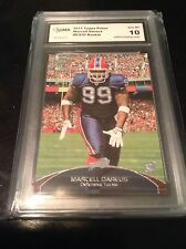 Marcell dareus 2011 topps prime rc 086/930 rookie bills card graded GMA 10
