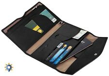 Coach Passport Case Wallet Travel Organizer Holder Document Checkbook Cover New
