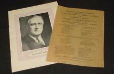 1936 ARKANSAS PRESIDENT ROOSEVELT VISIT NEGRO COTTON PICKERS HISTORY DEALERS LOT