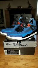 Air Jordan Spizike Blue NY Knicks Edition Size 10.5 (Very Good Edition!)