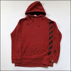 Nike Track and Field Hoodie | Small/Medium | Red/Black | Rare