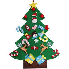 Felt Christmas Tree Set With Ornaments Xmas Gift Door Wall Hanging Decoration F