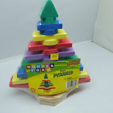 THE NICKEL STORE:  WONDER FOAM PYRAMID, EARLY LEARNING, BRAND NEW