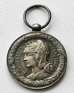 France Médaille Commémorative de l'Expédition de Madagascar 1883-1886 Argent