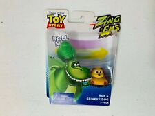 Toy Story Zing Ems Action Figures 2 pack Rex & Slinky Dog