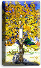 Vincent Van Gogh Mulberry Tree Painting 1 gang Light Switch Wall Plate Art Cover
