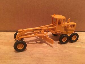 HO Scale 1:87 UMEX Caterpillar Motor Grader Construction Vehicle Equipment