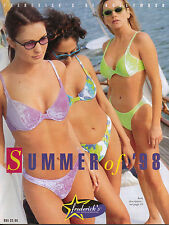 Frederick's of Hollywood Summer 1998 Catalog Women's Fashion Lingerie