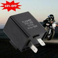 12V LED Motorrad Blinker Relais Blinkrelais Flasher Lampe Relay Licht 2 P1F1