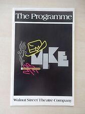 1987 - Walnut Street Theatre Playbill - Mike - Loni Ackerman - David Engel