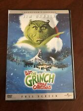 How the Grinch Stole Christmas (Full Screen Collector's Edition Dvd) Jim Carrey