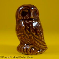 Wade Whimsies (1992/97) Tom Smith & Co Ltd - Rare (Misc Issue) Brown Owl
