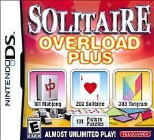 Solitaire Overload Plus  (Nintendo DS, 2010)