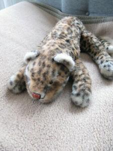Steiff Leopard ohne Knopf und Fahne Liegend ca 40cm stofftier / Plüsch