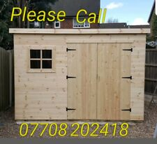 Sheds all sizes available