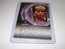 Stargate SG-1 Peter Williams as APOPHIS Autograph Card A6