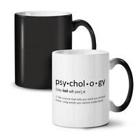 Psychology Science NEW Colour Changing Tea Coffee Mug 11 oz | Wellcoda
